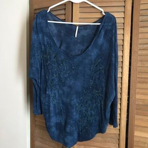 Free People Blouse EUC